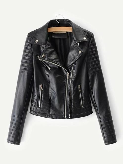 Яке- Black leather