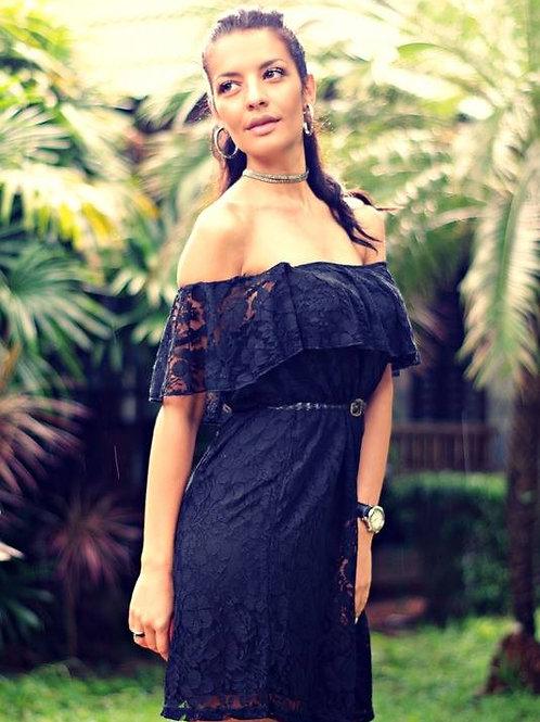 Рокля- Black lace