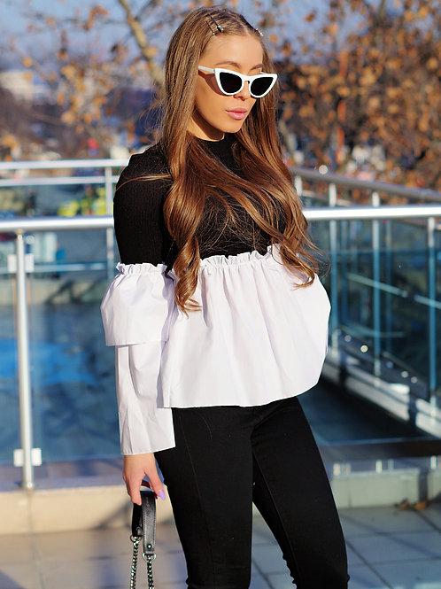 Блуза- Black & White
