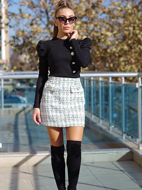 *Пола- Tweed Skirt 2