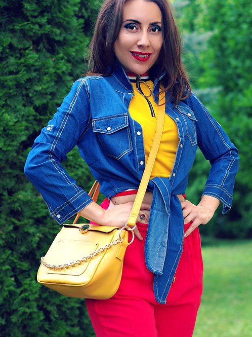 Риза - Blue denim