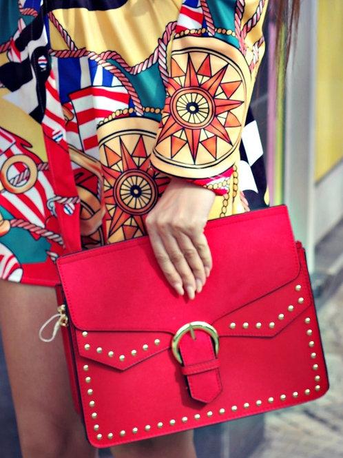 Чанта-Red lips
