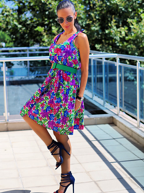 Рокля- Colorful dress