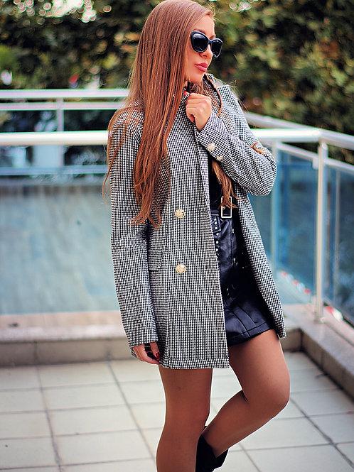 Палто- Double-breasted coat