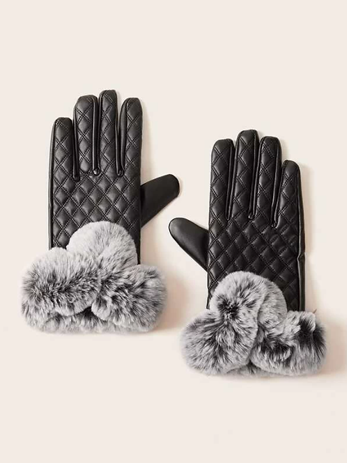 Ръкавици -  Black leather