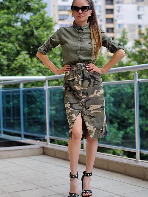 Риза- Military girl