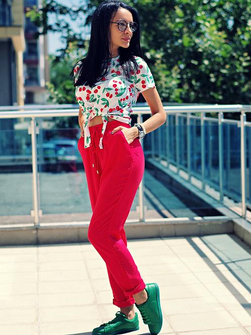 Панталон- Red cherry