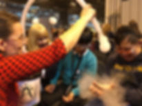 Exciting science for pupils with special needs at The Big Bang Fair, NEC, Dr Sarah Bearchell