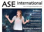 Cover of ASE INternational featuring #SensoryScience project