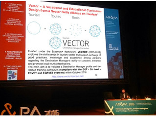 The VECTOR project was present at 10th Biennial of Heritage Restoration and Management 2016