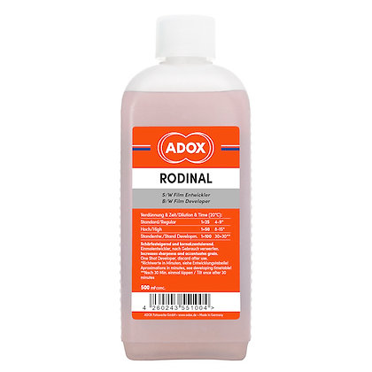 ADOX Rodinal sviluppo pellicola B/N 500ml