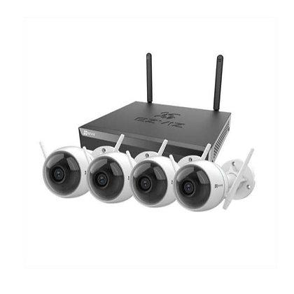 Ezviz Kit NVR X5S + 4 telecamere C3WN