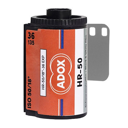 ADOX HR-50 con Speed Boost 135 36 pose
