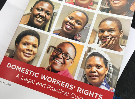DOMESTIC WORKER RIGHTS:  A legal and practical guide.