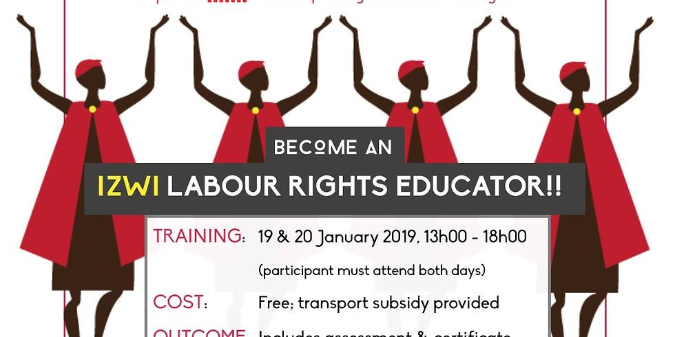 Labour Rights Educator Training