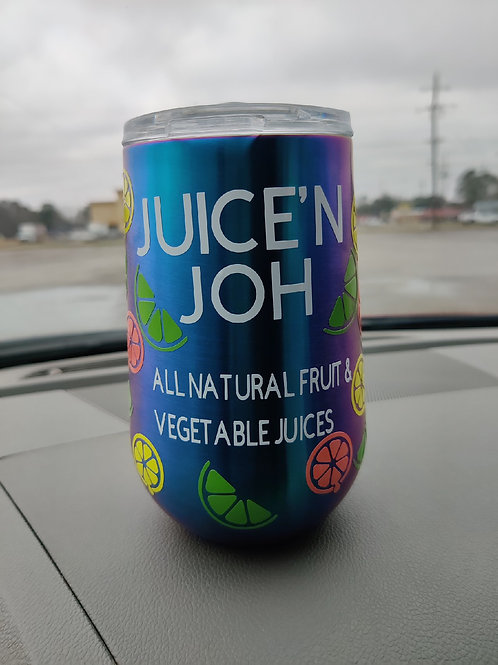 Juice'N Joh Tumblers w/Lids