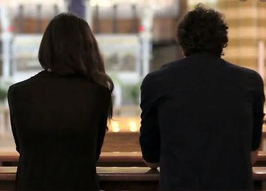 Couple In Church
