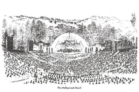 The Hollywood Bowl by Lynn Van Dam Cooper