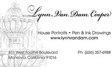 Lynn Van Dam Cooper Business Card