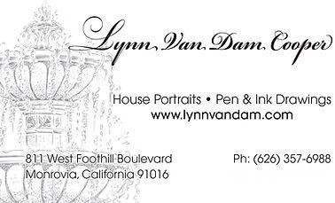 Lynn Van Dam Cooper Business Card