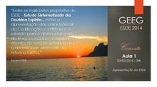 ESDE 2014 - convite aula inaugural