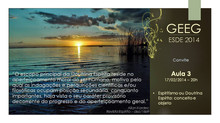 ESDE 2014 - Convite aula 3