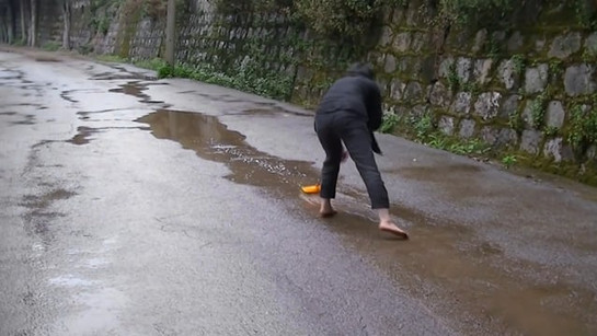 Sweep the Puddle