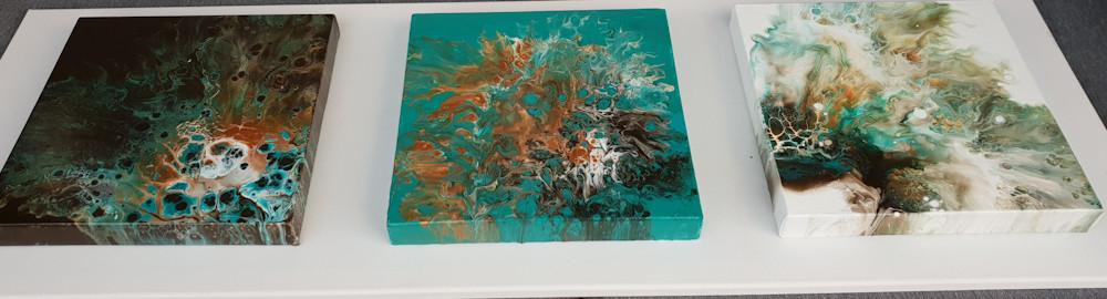 Farbwechsel Triptychon