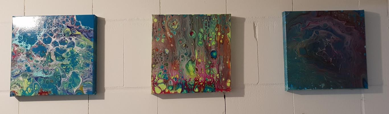 Farbenfreude Triptychon