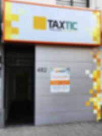 Fachada Taxtic Curicó