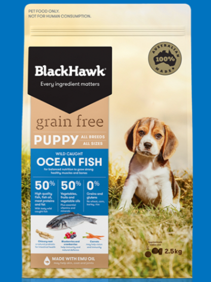 Blackhawk Grain Free Ocean Fish Puppy