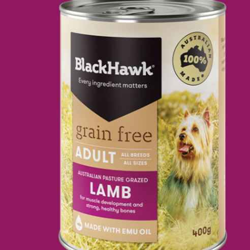 Blackhawk Grain Free Lamb Wet Food