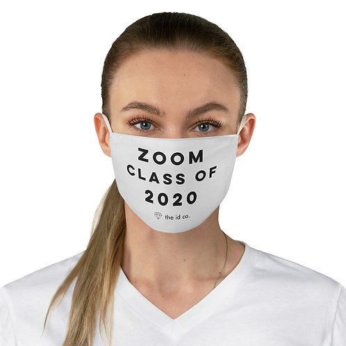 Zoom Class of 2020 Face Mask - ON SALE AUGUST 2020