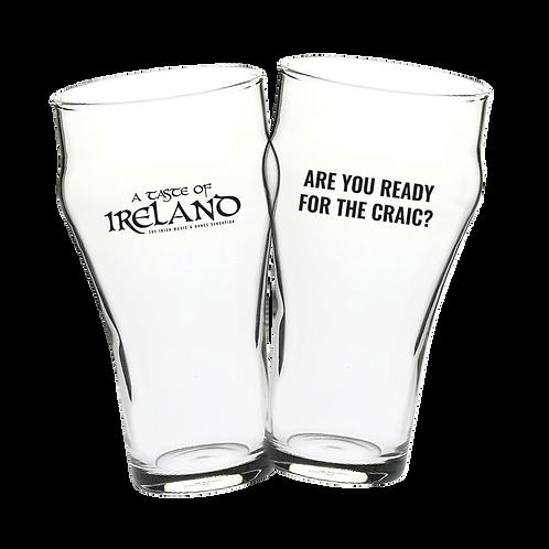 Beer Schooner Glasses