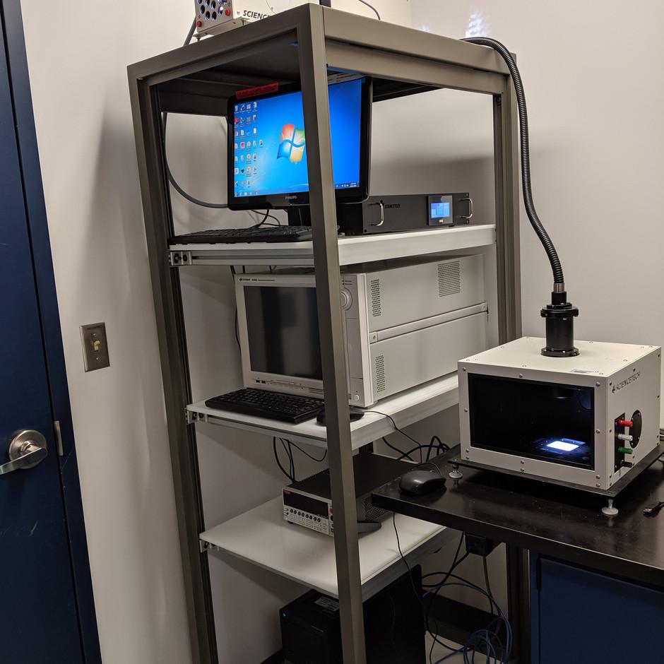 Opto-Electronic Characterization Station