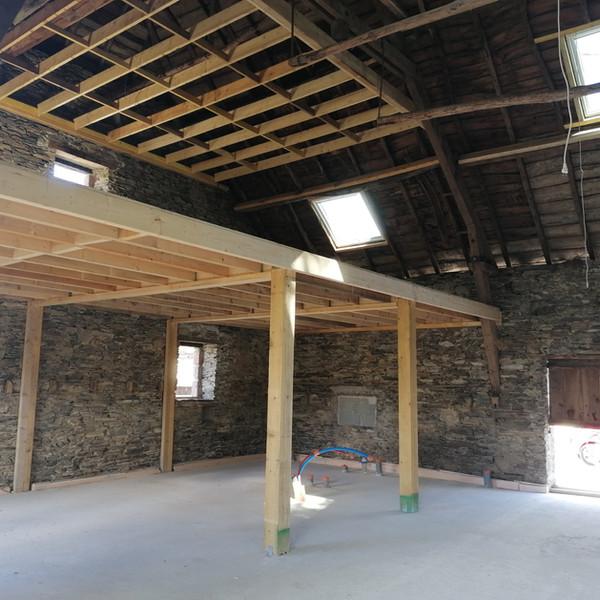 DONZENAC Rénovation et extension d'une maison