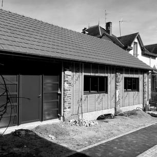 OBJAT  Transformation d'un hagar en habitation
