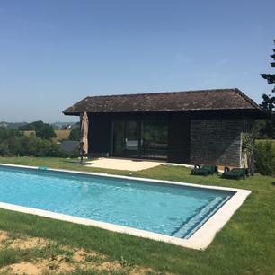 ALLASSAC Rénovation d'une maison d'habitation et de son pool-house