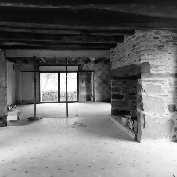 ORGNAC SUR VEZERE Rénovation d'un corps de ferme