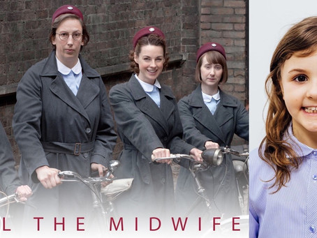 KAYLA CAST AS ISLA MCLEOD ON BBC CALL THE MIDWIFE CHRISTMAS SPECIAL