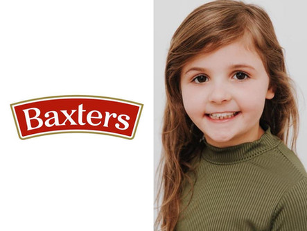 KAYLA cast in BAXTERS soup commercial