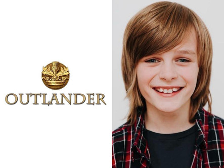 LAWRIE FILMING FOR AMERICAN TV SHOW ''OUTLANDER''