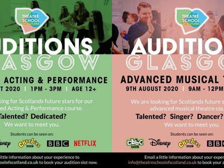 WE ARE HOSTING AUDITIONS FOR OUR ADVANCED COURSES