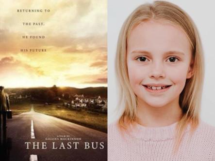 AYLA CAST IN '' THE LAST BUS'' ALONGSIDE Timothy Spall