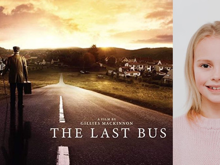 AYLA CAST IN '' THE LAST BUS'' ALONGSIDE Timothy Spall