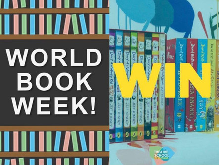 Forget World Book Day! We are celebrating WORLD BOOK WEEK!