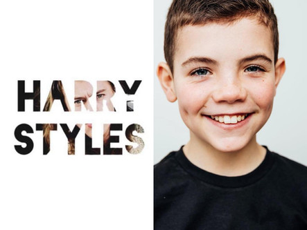TY CAST AS YOUNG HARRY STYLES IN MUSIC VIDEO
