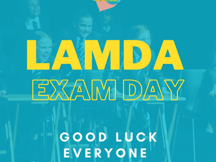 LAMDA EXAMS AT OUR TSOS GLASGOW STUDIO
