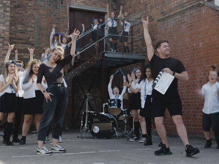 TSOS STUDENTS ROCK OUT IN SCHOOL OF ROCK CONCEPT VIDEO!