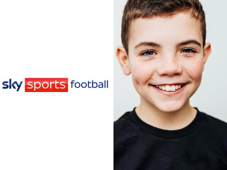 TY cast in Sky Sports Football Commercial
